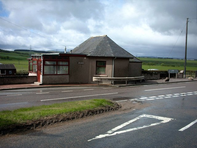 Auchinhove Toll House on A95 near Keith.