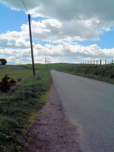 Road near Chapel of Barras