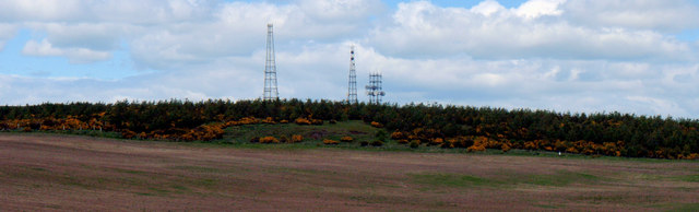 Transmitters on Bruxie Hill