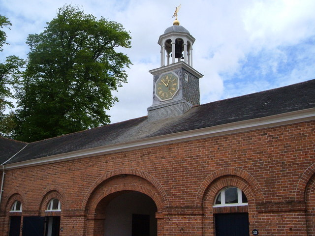 Clock and cupola, stable block, Saltram