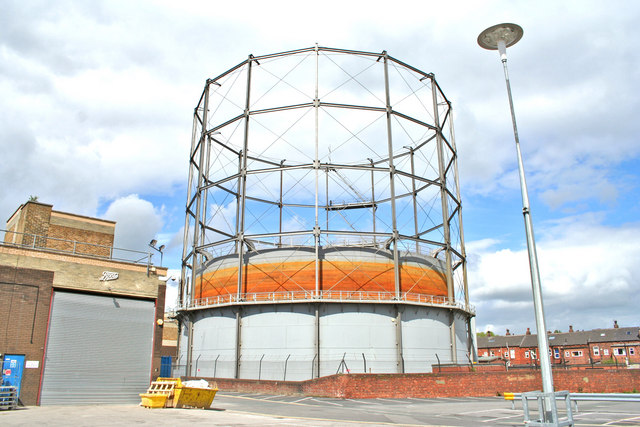 Crossgates Leeds Gas Holder