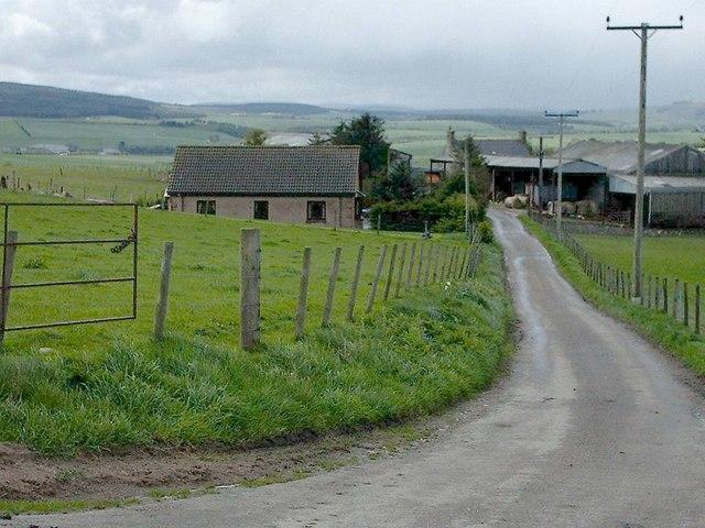 Newtack Farm near Keith