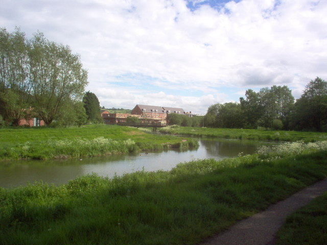 New Housing Near the River Witham Lincoln