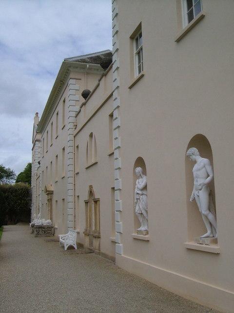 West facade, Saltram House