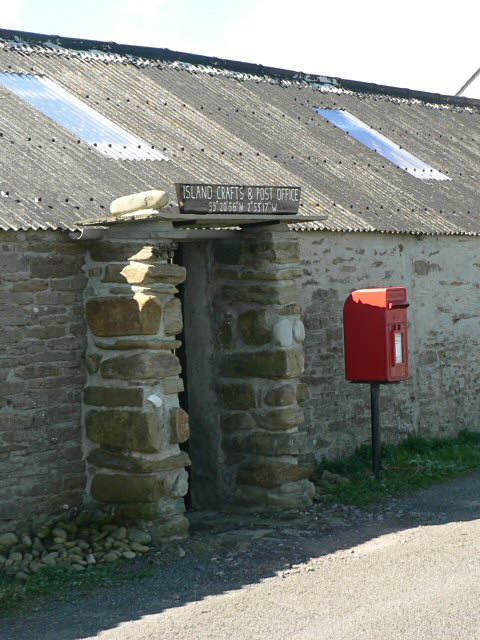 Papa Westray post office and shop