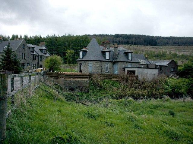Craigisla near former Grange Station near Keith