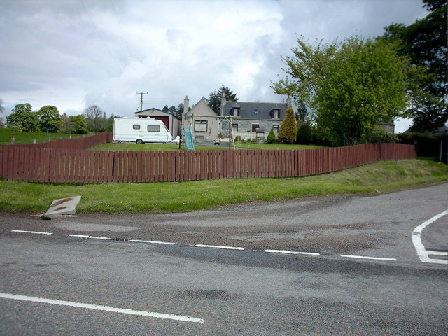 House at Thornton on A95.
