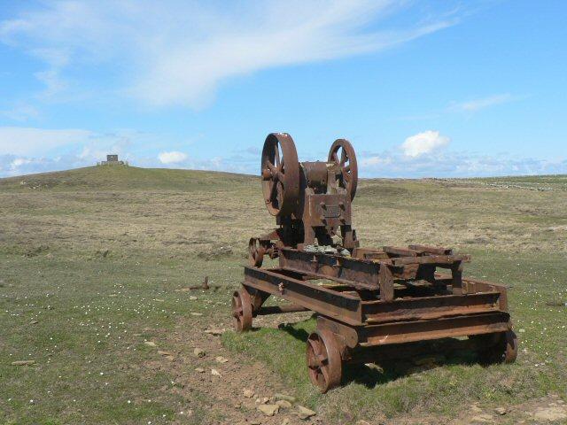 Abandoned machine, Papa Westray