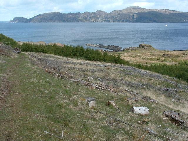 Rocks at An Dunan
