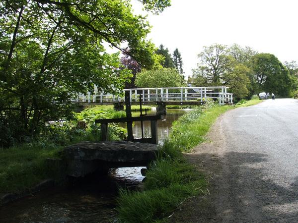 Bridge over Morland Beck