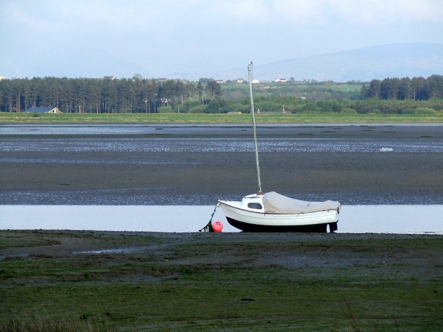 The River Cefni at low tide