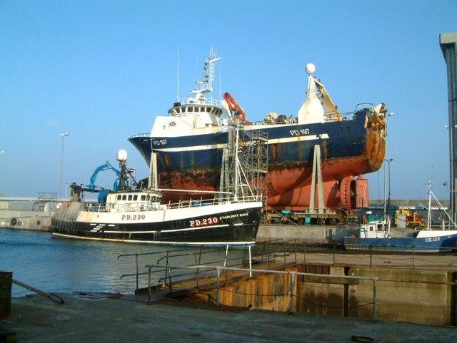 Peterhead ship-lift