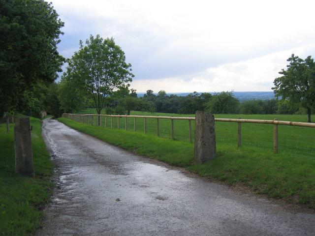 Driveway to Attlepin Farm