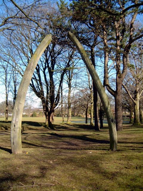 Whale bone arch, Aberdeen
