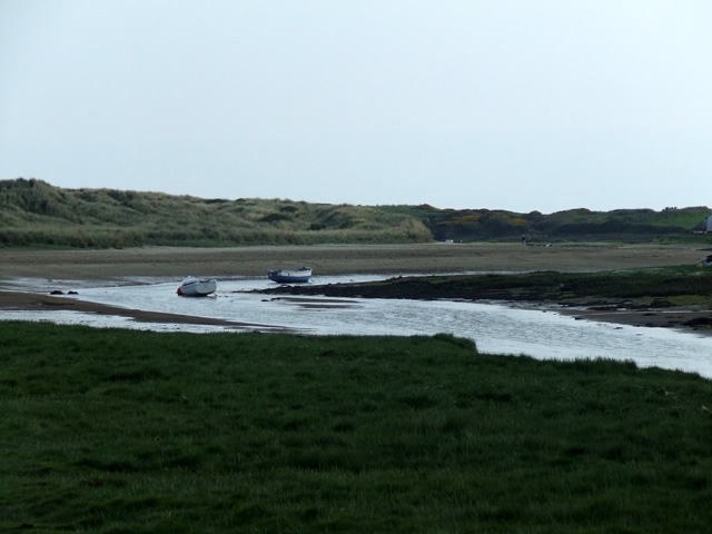 The river at Aberffraw