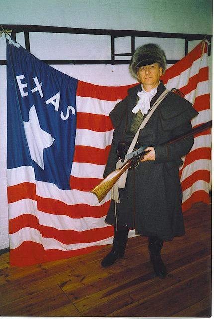 Davy Crockett at Fort Nelson.