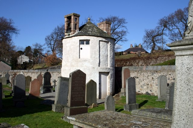 Graveyard watch tower. Banchory.