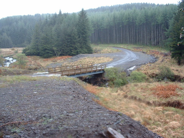 Bridge over the Mingary Burn