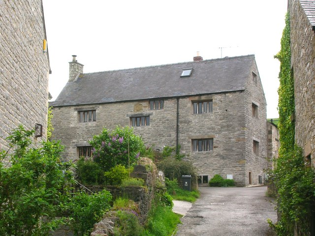 The oldest building in Calver?