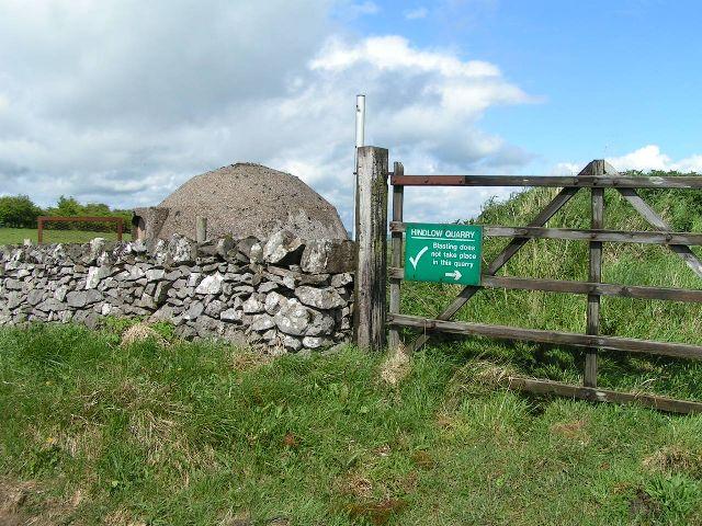 Blast Shelter, Hindlow Quarry