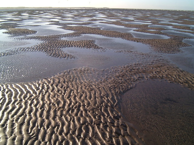 Sandscape at Brancaster Beach