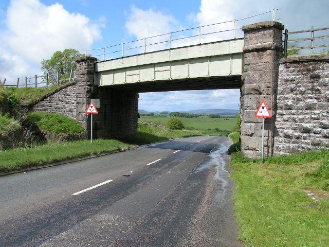 Railway bridge, Hindlow