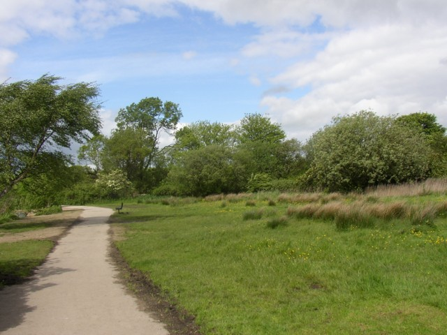 Far end of Yeadon Tarn