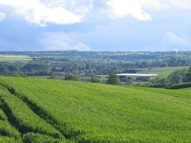 View towards Chipping Campden