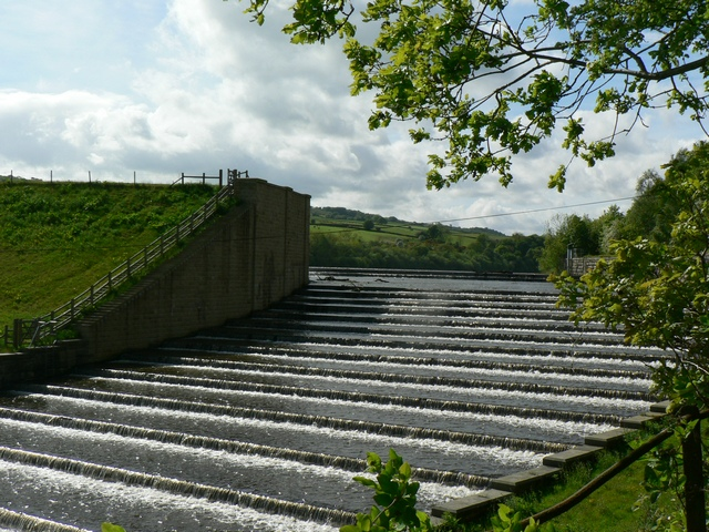 Overflow Spillway, Lindley Wood Reservoir