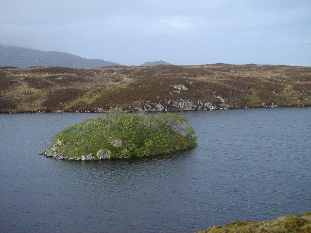 Dun Ban, Loch Hornary, Grimsay