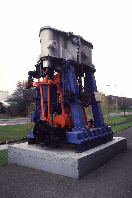 Marine engine, Hambridge, Newbury