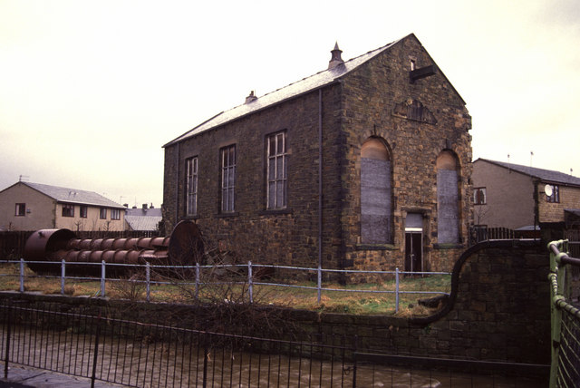 Engine house, Jubilee Mills, Padiham