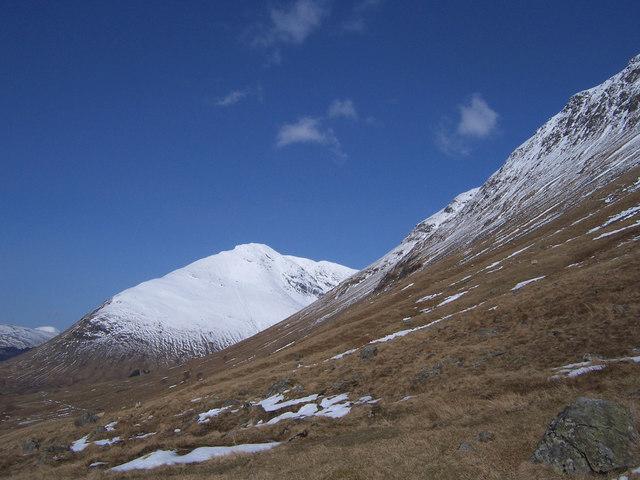 In upper Glen Coralan