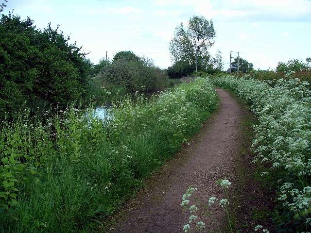 Nottingham Canal towpath