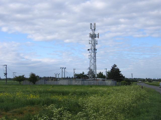 Communications mast, Longstanton, Cambs