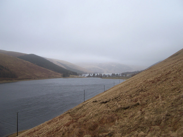 On the hillside above the Loch o' the Lowes