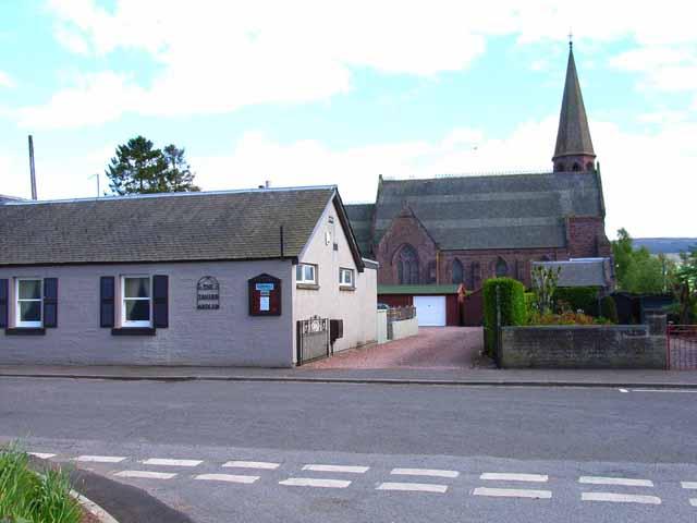 Church and Tavern at Ardler
