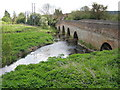 SP0956 : Bridge over the River Arrow, Oversley Green by Frank Smith
