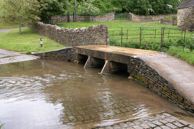 Ford at Lower Harford Farm, near Naunton