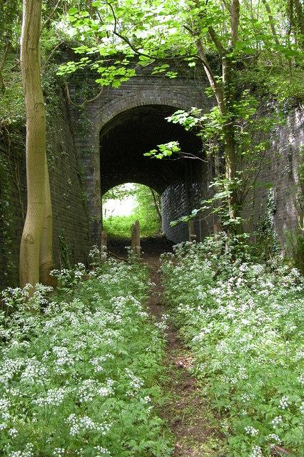 Railway bridge on the Banbury to Cheltenham railway