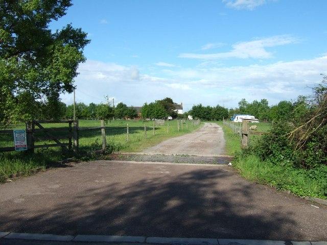 Entrance to Oak Farm, Broughton
