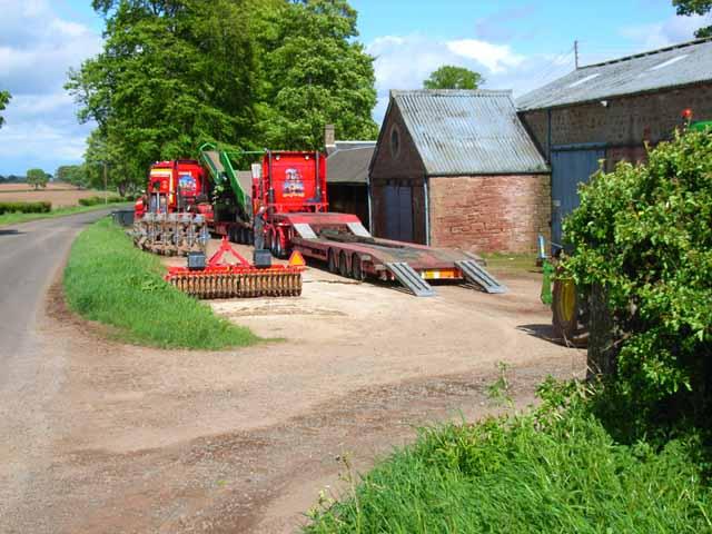 Simprim Farm, near Meigle