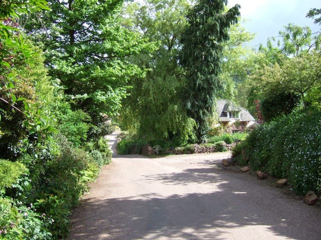 Wootton Courtenay - Village lane