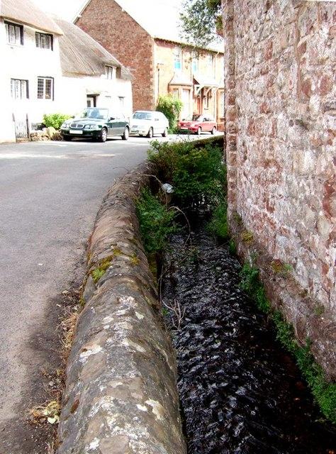 Alcombe - The stream