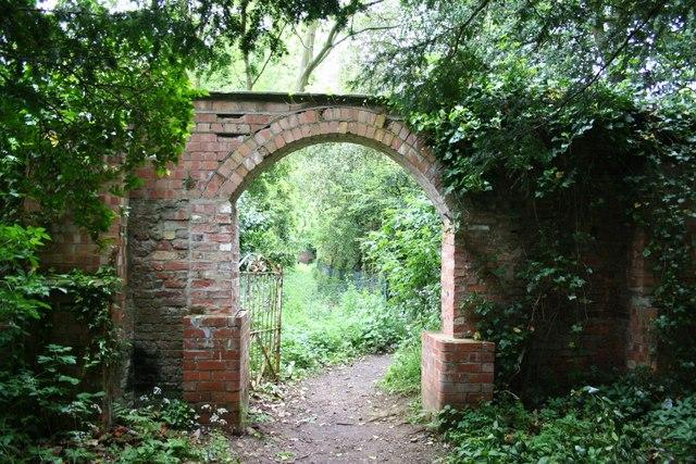 Gate between church & hall