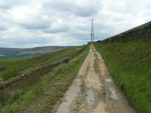 Shatton Edge TV mast