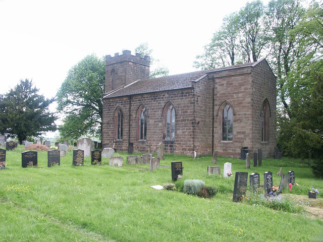 Christ Church, Hulland.
