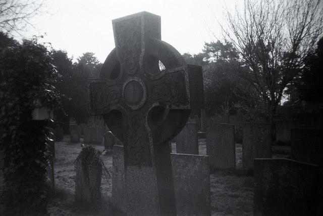 Celtic Type Cross, Laxton Churchyard