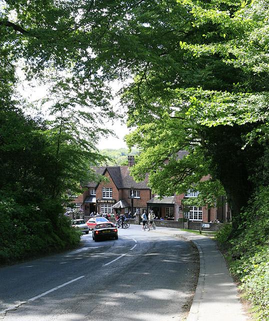 Entering Burley on Station Road