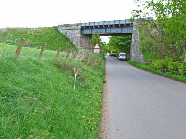 Railway bridge near Drumlithie